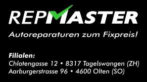 REPMASTER - Autoreparaturen zum FixPreis in 4600 Olten